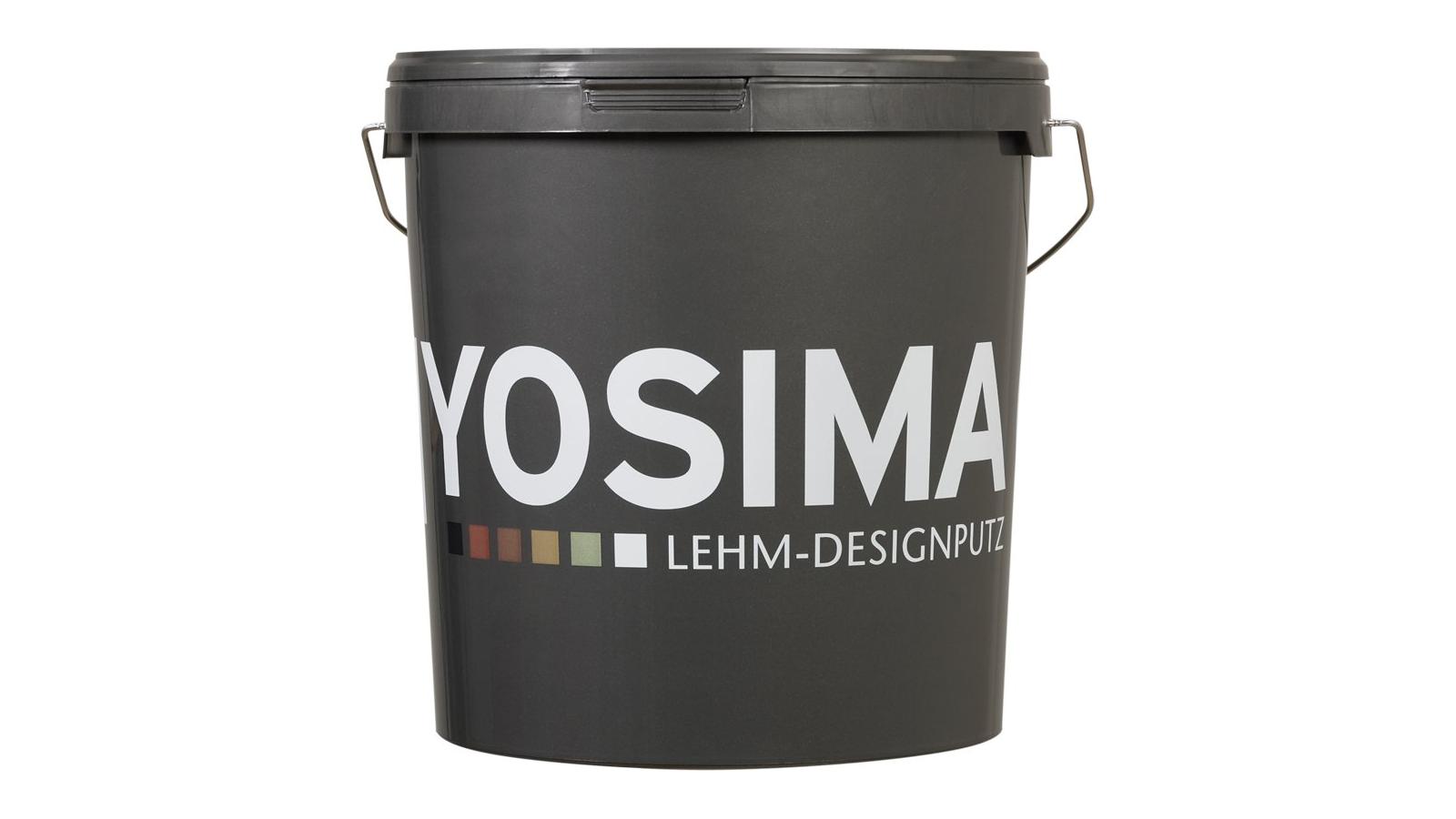 YOSIMA Lehm-Designputz Eimer