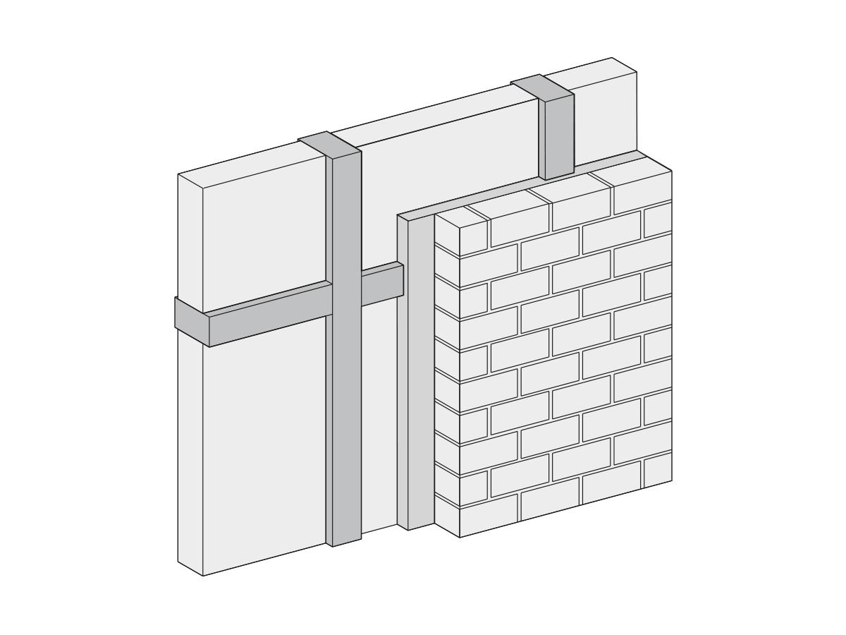 Lehm-Mauermörtel leicht