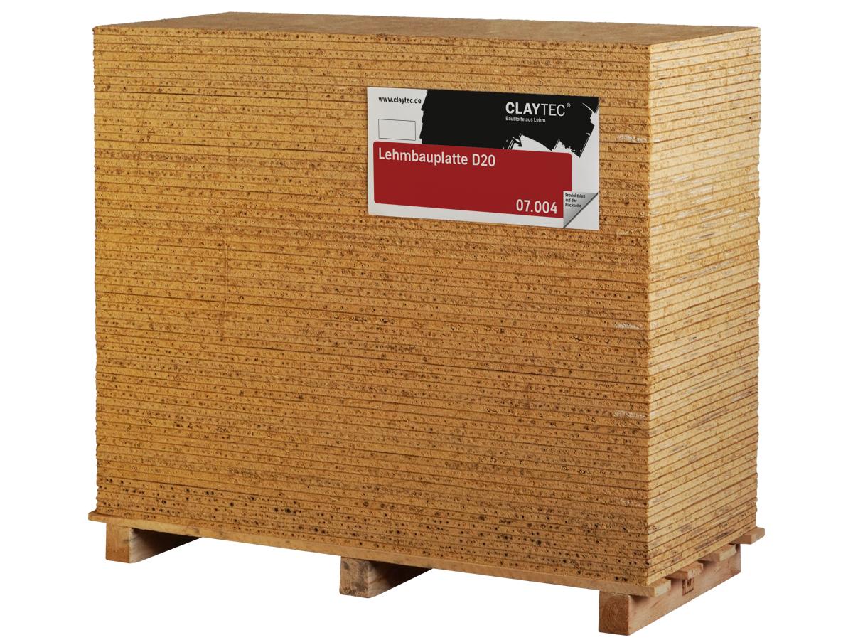 CLAYTEC – Lehmbauplatte