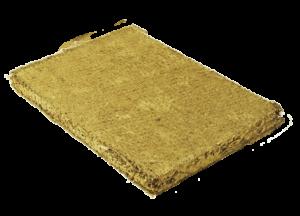 Produktmuster Lehm-Trockenputzplatte D16