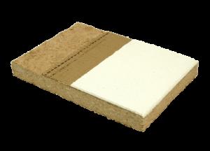 Produktmuster LEMIX Lehmplatte schwer D22