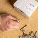 Spezial-Schrauben für Lehmbauplatten